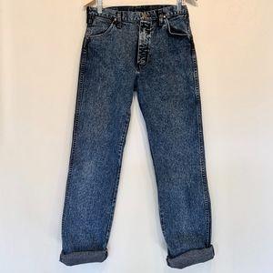 Wrangler | VTG  Dark Wash Blue Denim Dad Jeans